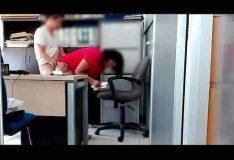 Fodendo com chefe no escritório